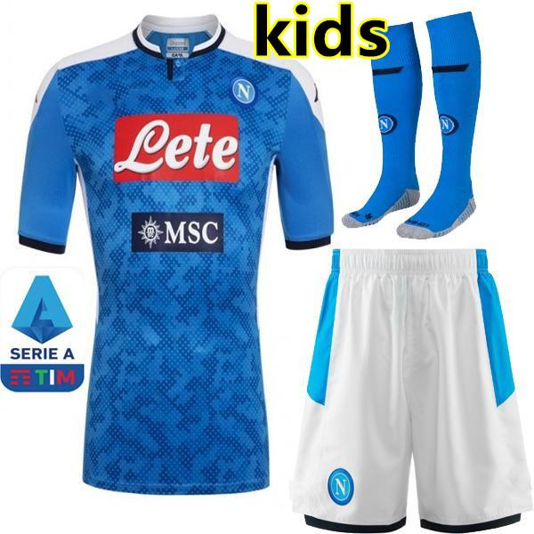 Accueil 19/20 kids kit + Serie A Patch