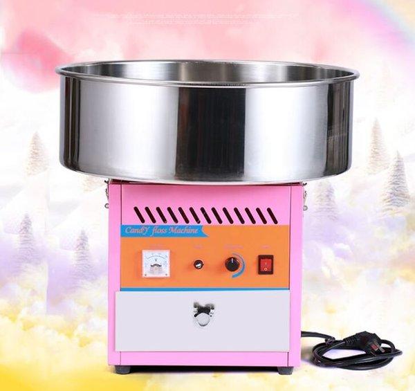 hilo de caramelo comercial eléctrico superior de tabla de la máquina del fabricante de caramelo de algodón dulce que hace la máquina para la venta