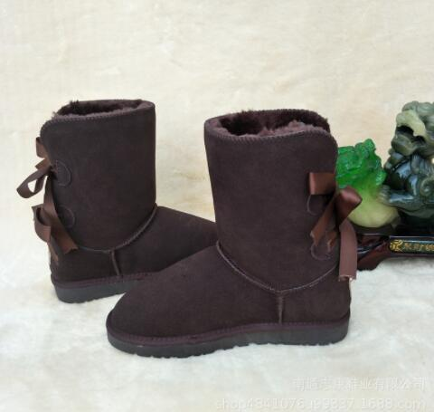 Promoción de descuento Hot Australia fashion new WGG 3280 Botas altas para mujer Botas de nieve para mujer Botas de invierno Botas de cuero Bboot