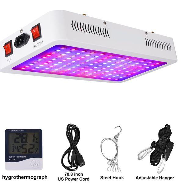 1500w LED coltiva la luce di spettro completo per piante d'appartamento, lampada LED pianta con catena, pianta Light Fixtures in crescita con la fioritura di Veg Canale