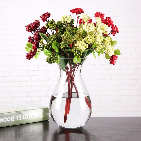 Modern Glass Vase Icy Veins Crack Transparent Terrarium Glass Containers Vases Home Decoration Flower Pot Wedding Accessories
