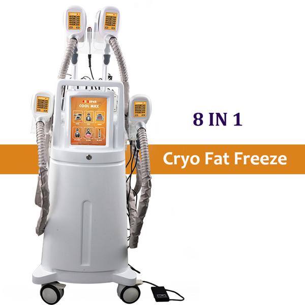 High End Zeltiq Cryolipolysis Cryo Maschinenkühler Fettgefrierkörper Schlankheitsausrüstung 4 Griffe Cryolipolisis Fettabbau