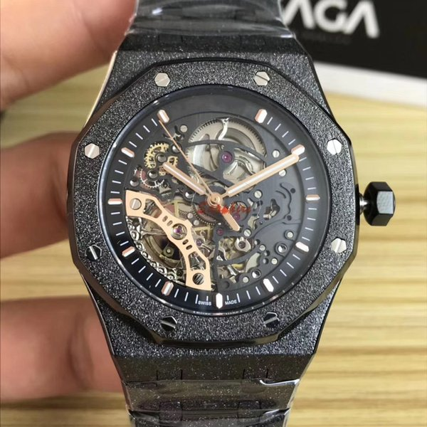 Hot Items Stainless steel Bracelet Mechanical Automatic movement Men Watch Luxury Mens Sapphire Glass 41mm Male Watch Wristwatches