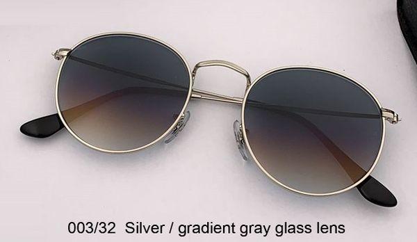 003/32 silver/gradient gray lens