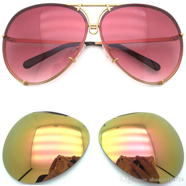 5d5d4bf6218 Sale Hot 2019 New 8478 Replaceable Lens Brand Sunglasses Women Fashion Men  Sunglasses Retro Brand Designer Punk Sun Glasses With Box.
