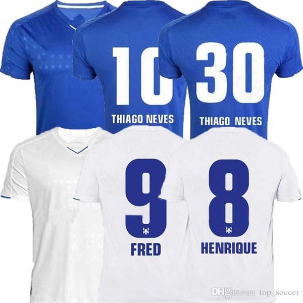 Camiseta de foot CRUZEIRO 2019 19 20 DE ARRASCAETA FRED ROBINHO THIAGO NEVES camiseta de fútbol Cruzeiro casa club Brésil Camisas