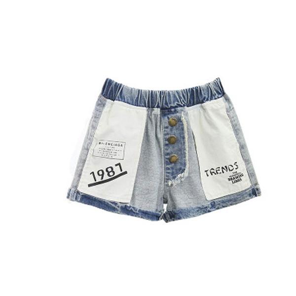 New 2019 Girls Shorts Fashion kids summer clothes girls Jeans Denim Kids Shorts kids designer clothes girls pants children clothing A5468