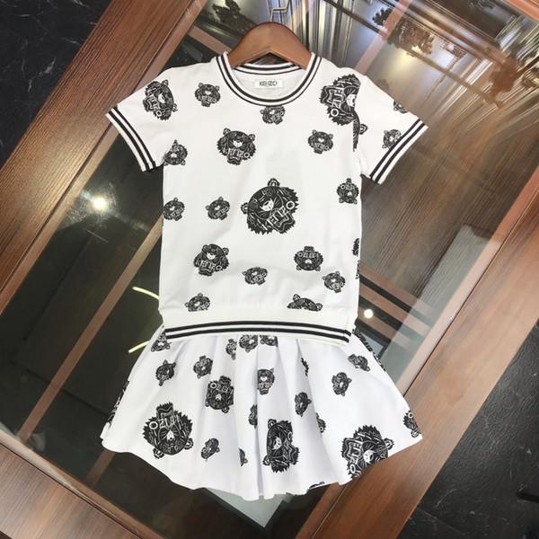 Mädchen setzt Kids Designer Bekleidung Sommer Kinder Bruder und Schwester neue Set aus reiner Baumwolle weichen bequemen Jungen und Mädchen Anzug