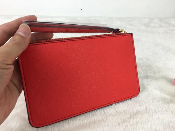Women KS PU Leather Wallet Wristlet Zipper Purse Clutch Bag Outdoor Travel Sports Credit Card Money Cosmetics Bags Girls Handbag Cute Purse