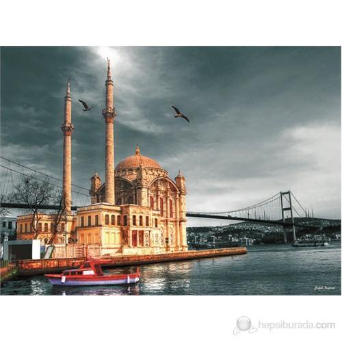 Türkiye'den Anadolu Ortaköy Camii Nostalji (1000 Parçalar) Gemi