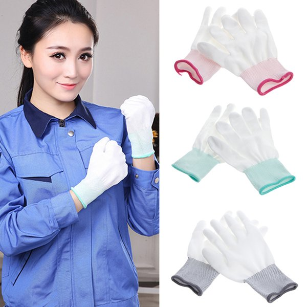 500pair Antistatic Gloves Anti Static ESD Electronic Working Gloves pu coated palm coated finger PC Antiskid for Finger Protection