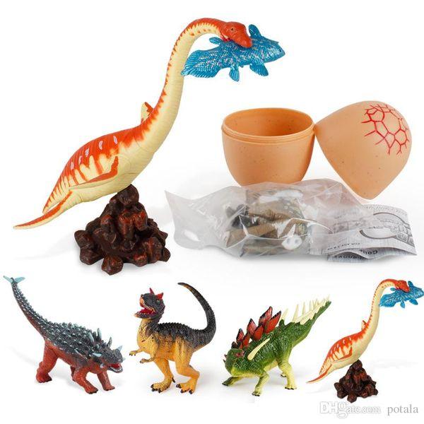 Christmas Dinosaur.Pleslosaurus Dinosaur Eggs Dino Puzzle Camotaurus Euoplocephalus Kentrosaurus Building Block Bricks Animal Building Sets Xmas Christmas Wooden