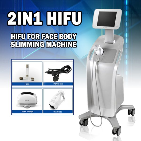 2019 DHL Free Shipping High intensive liposonix belly fat reducing machine body slimming machine Top good review