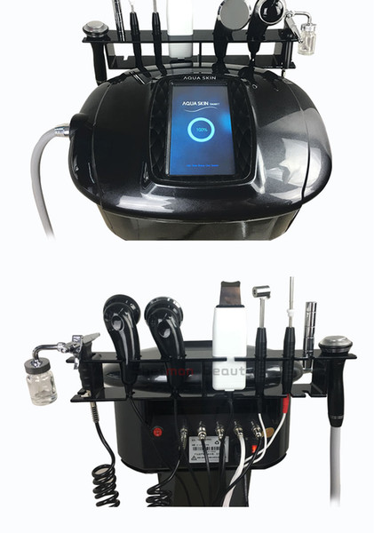 8 in 1 Cold and hot Hammer Facial Massager Machine Price Deep Cleansing Exfoliators Face Lift for Salon or Personal Use