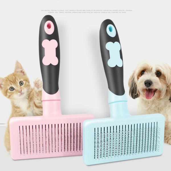 Chat et chien Peigne spécial aiguille peigne Pet Comber Teddy Golden Hair Grand chien brosse peigne Toilettage pour animaux produits pour les chiens