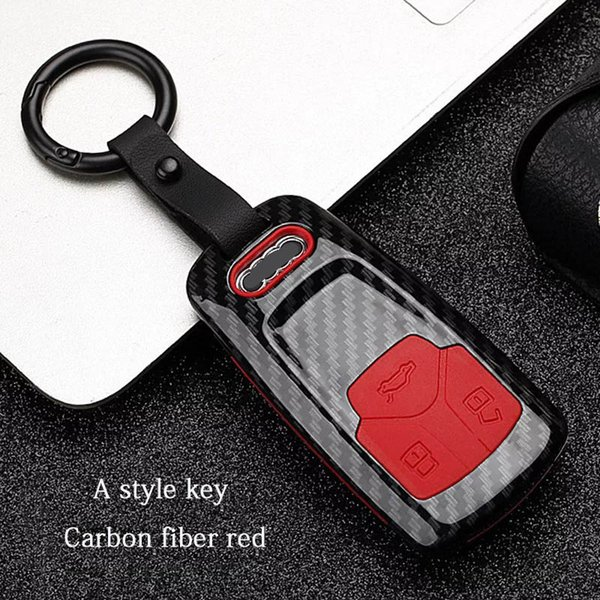 A style - Red Carbon fiber