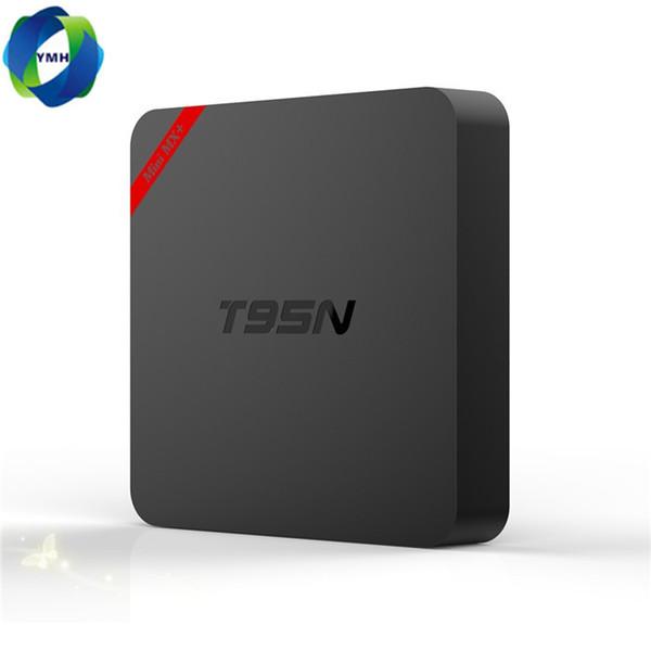 T95N Mini MX plus Android TV Box 1GB 8 GB Quad Core Amlogic S905X UHD 4K TV Box Smart TV Miracast DLNA IPTV Media Player Set-top box MQ05