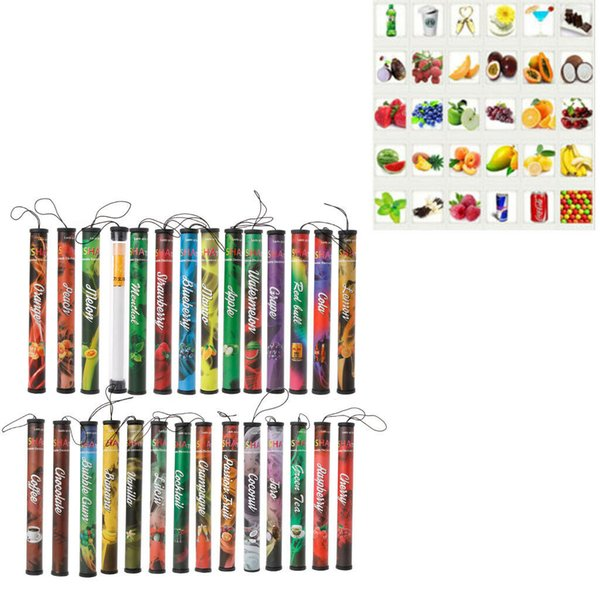 Fruits Flavor 500 Puffs Disposable Vapor Hookah Electronic Stick Shisha Pen
