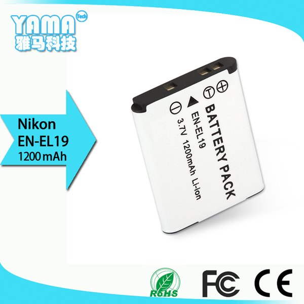 manufacturers directly sell High quality Lithium Rechargeable Battery Digital Camera Battery for Nikon En-EL19 S2500/S3100/S4100