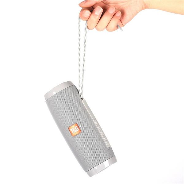 Refroidir TG157LED portable Bluetooth sans fil étanche voiture subwoofer haut-parleur avec fonction radio mini colonne basse MP3 subwoofer USB colonne spe