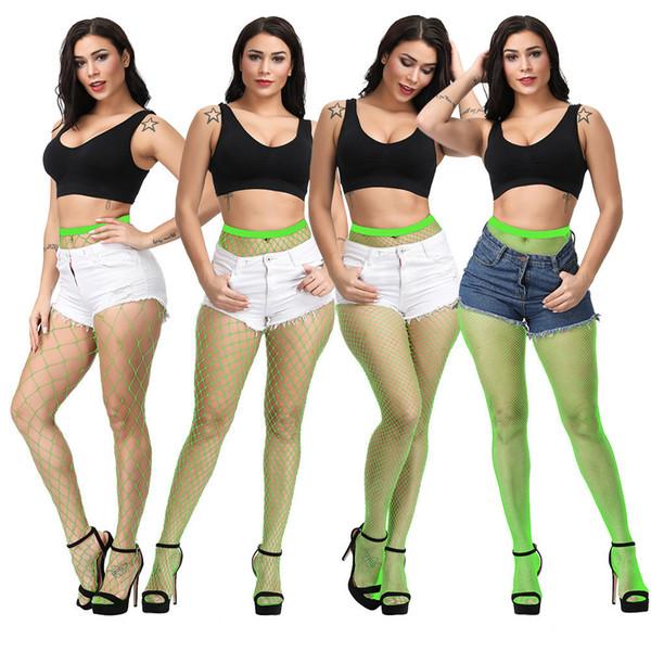 Heißer verkauf stilvolle strümpfe strumpfhosen mädchen sexy dessous elastische weibliche neue modetrends stil oberschenkel hohe mesh netzstrumpf underwear