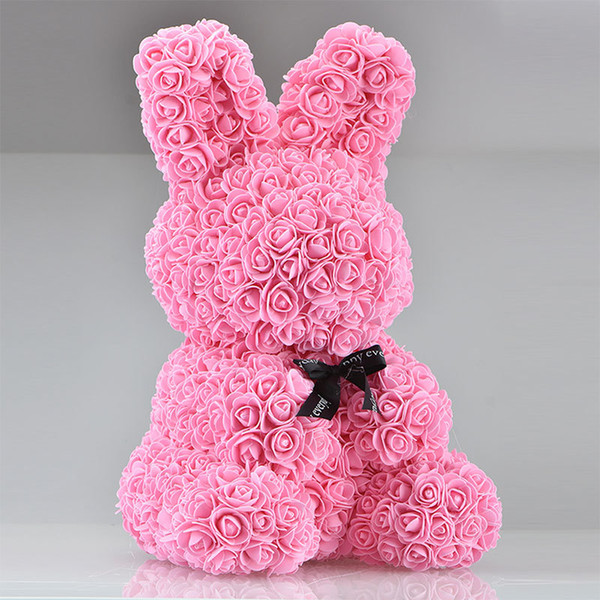 45cm pembe tavşan