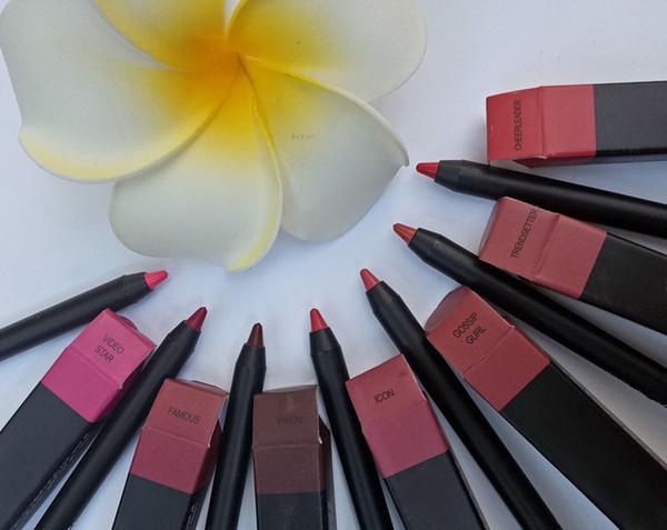 8 colori matite labbra opaco impermeabile a lunga durata lip / eye liner matita contorno liner hanno 8 colori diversi