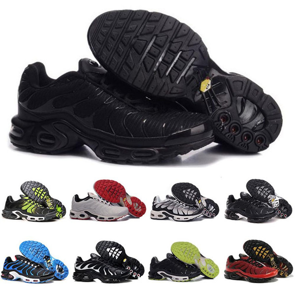 12 Couleurs En Gros Haute Qualité Vente Chaude TN Hommes Casual Chaussures De Sport Sneakers Baskets Chaussures taille 7-12