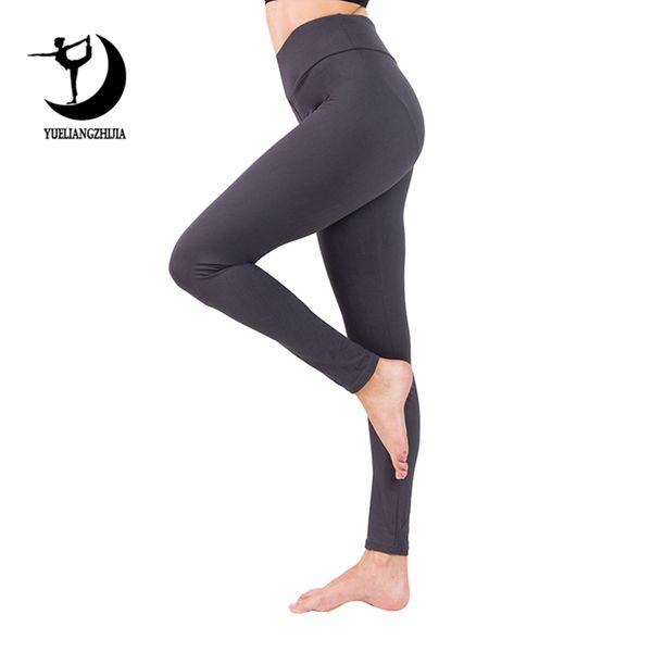 2019 women plus size high waist leggings for fitness soft slim Elastic workout pants new arrivals spring fashion push up legging