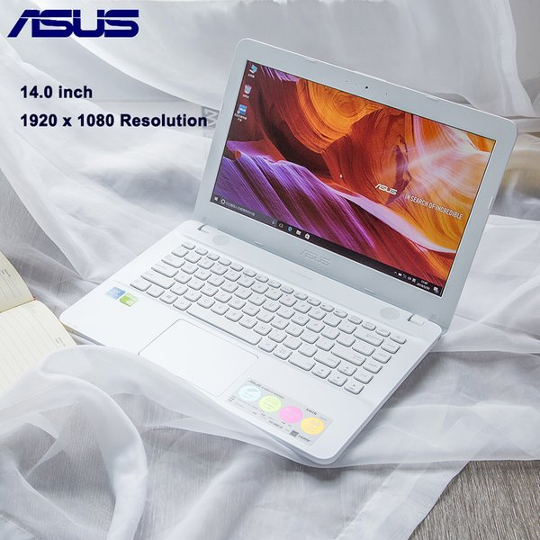ASUS X441NC 14.0 polegadas Laptop Windows 10 OS Intel Apollo Pentium N4200 Quad Core 1.1GHz CPU 4GB de RAM 256GB SSD Câmera 1.0MP
