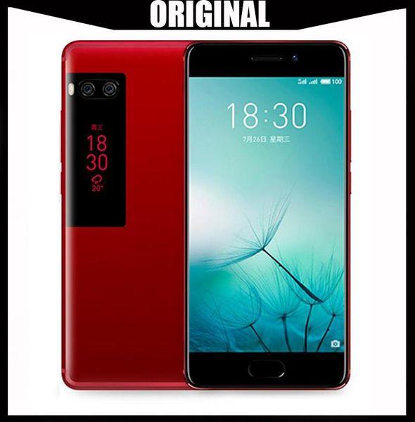 "WholeSale Original Meizu Pro 7 4G LTE 4GB RAM 64/128GB ROM MTK Helio X30 Deca Core 5.2"" 1080P AMOLED Screen Dual Rear Camera Fast Charge"