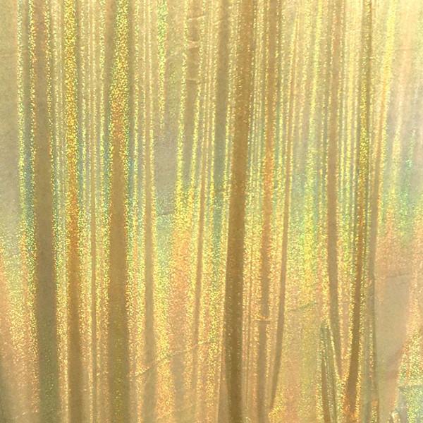 Lazer Işığı Altın 5x6FT-150x180cm
