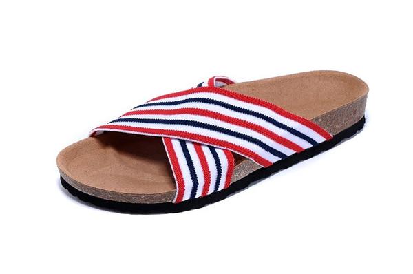 Новая мода мужские плоские сандалии, женская мужская пряжка летние пляжные шлепанцы высокого качества майя-ри эластичные тапочки