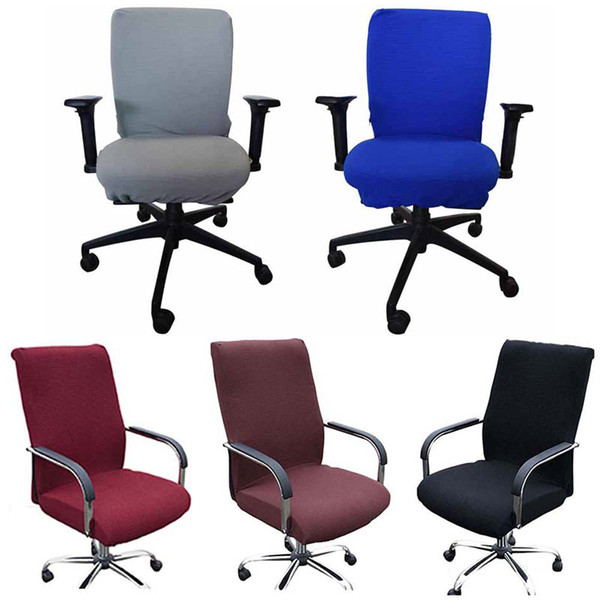 Super Elasticity Office Computer Chair Cover Side Arm Chair Cover Spandex Rotating Lift Dust For Universal Without Cheap Wedding Chair Cover Rentals Gmtry Best Dining Table And Chair Ideas Images Gmtryco