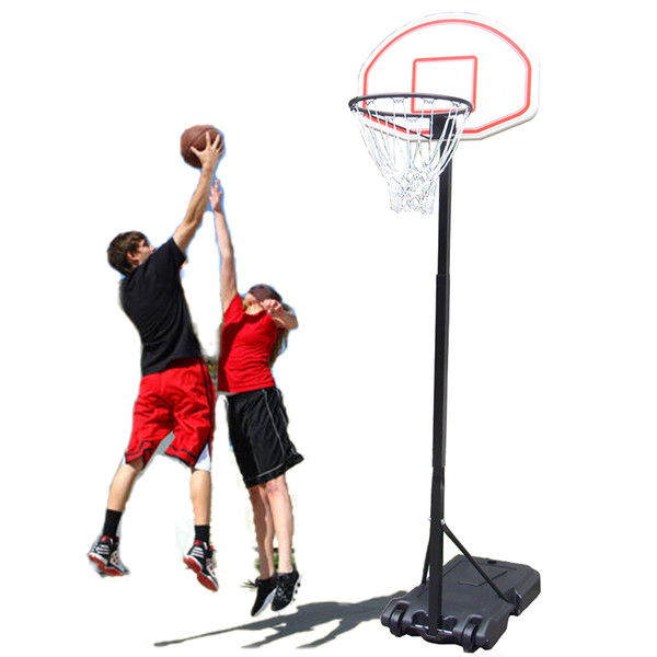 Portable Kid Teenager Indoor Outdoor Basketball Stand Maxium Applicable Ball Model