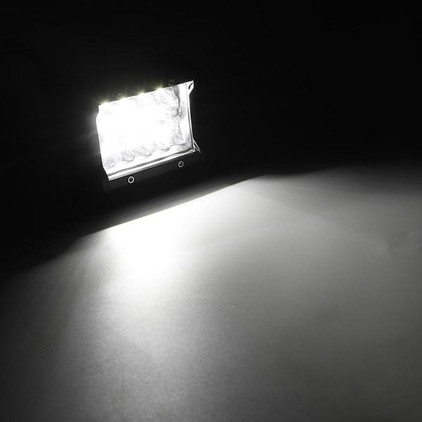 Le brouillard combiné de guide optique de travail de Tri-rangée de 4W 6000 2400LM LED conduisant le blanc pour le bateau de camion tout-terrain ATV