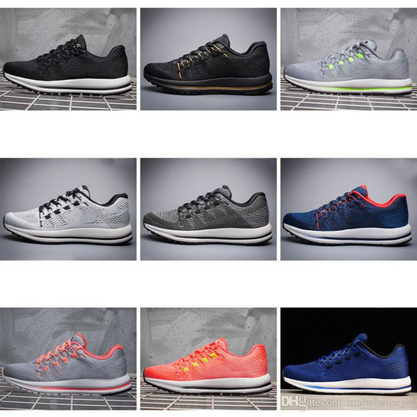 Discount Men's Authentic NIKE AIR ZOOM VOMERO V12 Breathable Running Shoes