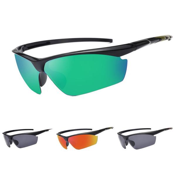 2019 Designer Sunglasses UV400 Men Cycling Eyewear Outdoor Sport Mountain Bike Bicycle Glasses Motorcycle Sunglasses Fishing Glasses 894 dam