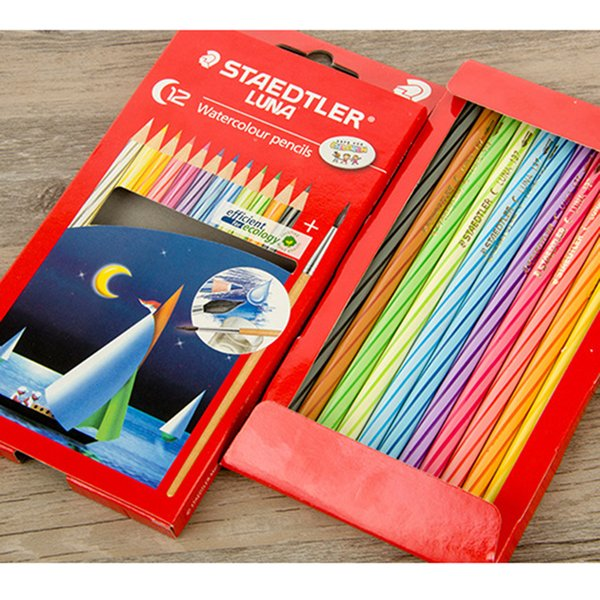 36/48pcs Colored Paint Pencils Watercolor Pencils For Children Kid Drawing Sketching Art Supplies Students Stationery Gift
