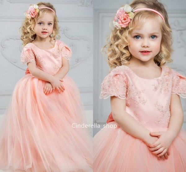 509b2f8befe56 Floor Length Flower Girl Dresses Peach Coupons, Promo Codes & Deals ...
