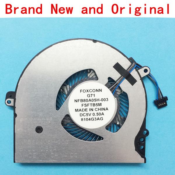 New laptop CPU cooling fan Cooler radiator Notebook for HP PAVILION 927920-001 TPN-Q189 15-ck017TX TPN-Q201 15-ck