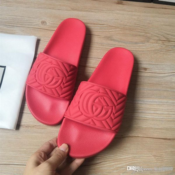 best selling New men's women's matelassé rubber slide luxury designer shoes 602067 men's slippers women's slide fashion casual sandal