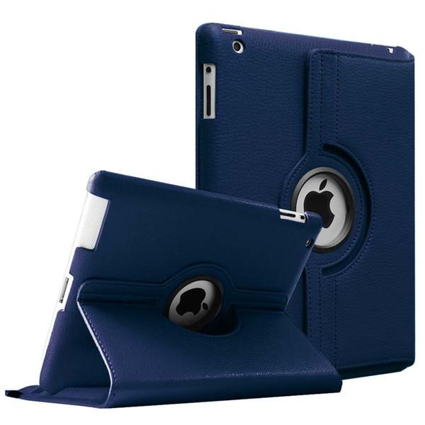 Estuche para Apple iPad 2 3 4 Auto magnético Despertador Sleep Litchi PU Funda de cuero con soporte inteligente para iPad 2/3/4