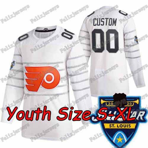 2020 All Star Youth Blanc: Taille S-XL