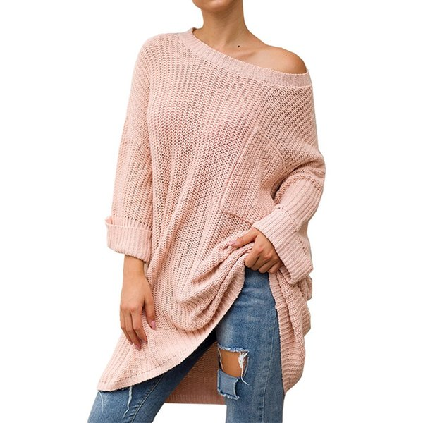 Sweater Women Winter Clothes Pullover Women Feminino Pink Long Sleeve Sweter Turtleneck Sweters Sueter Mujer Invierno 2019