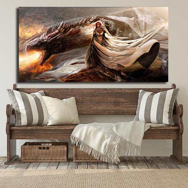 Acquista Aurora Di Mark Ryden Art Canvas Poster Pittura Parete Picture  Print Modern Home Camera Da Letto Decorazione FrameworkDaenerys Targaryen  Game ...
