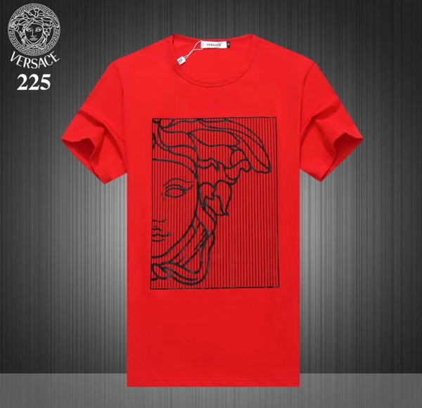 2019 Yaz Tasarımcı T Shirt Erkekler Için POLO blous Tops mektup Nakış T Gömlek Erkekler Giyim Marka Kısa Kollu Tişört Kadın M-2XL D095 Tops