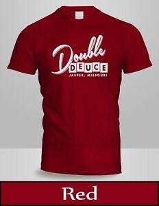 DOBLE DEUCE T MENS TOP ROAD COLOR RED HOUSE MOVIE TEE NUEVO 3