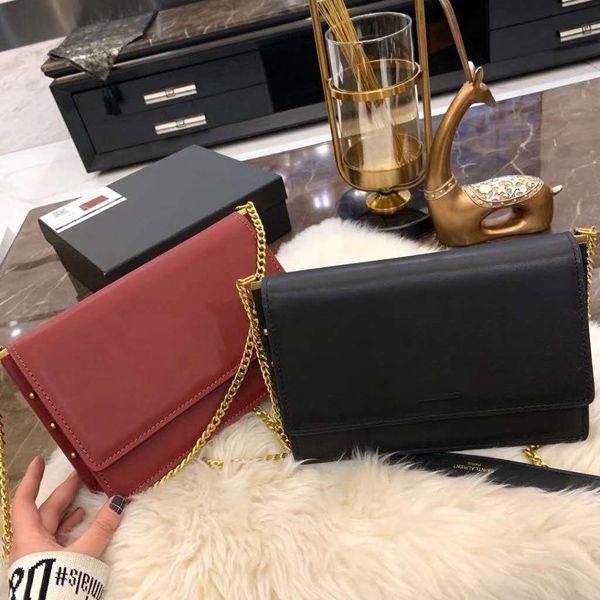 Fashion Korean Women's Solid Color Shoulder Bag High Quality Luxury Designer Rivet Counter Hot Selling Messenger Bag