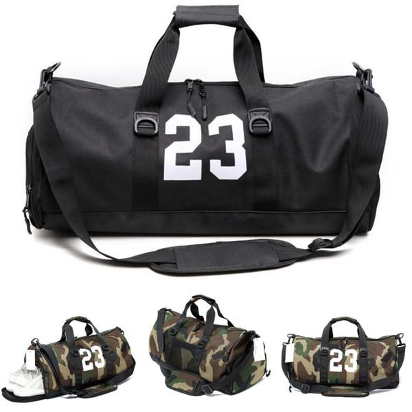ba181912d07b New 23 Camouflage Designer Duffle Bag Luxury Brands Mens Womens Designer  Bags Black Large Capacity Sport Gym Bags